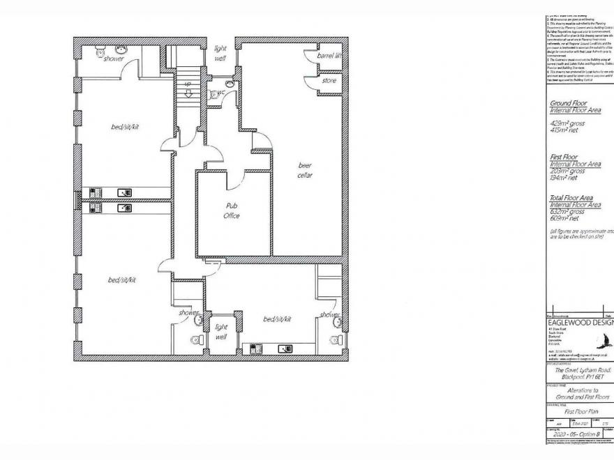 Public House For Sale - Floorplan 1